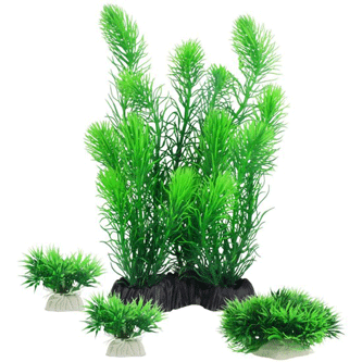 Aquarium Decor Plastic Plants