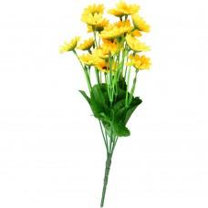 Artificial Daisy Flower, Yellow Silk Daisy Flower Bouquet (1)