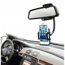 Car Mount Holder with 360 Rotate, Universal Car Rearview Mirror Mount