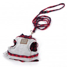 Comfort Soft Cat Harness with Bow, Adjustable and Durable Cat Leash for Walking
