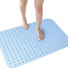 Washable Bath Mat, Non-Slip Mat with Suction Cups