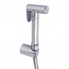 Cloth Diaper Sprayer, Toilet Handheld Bidet Sprayer Set with Stainless Steel Hose and Bracket Holder