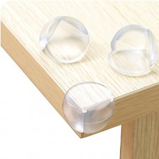 Clear Furniture Corner Protectors, Adhesive Baby Proof Corner Guard, 12 PCS