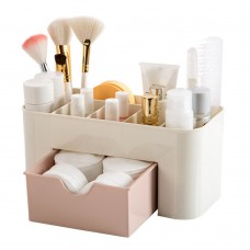Makeup Organizer, Cosmetic Holder with Drawer, Makeup Brush Holder for Brushes, Lipsticks