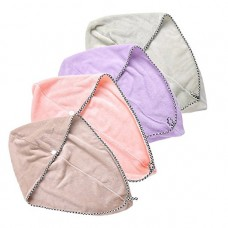 Hair Drying Towel, Hair Towel Wrap, 4 pack Hair Turban for Women