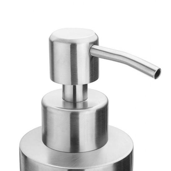 MyLifeUNIT: Stainless Steel Round Soap Dispenser, Bathroom Kitchen ...