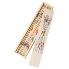 Wooden Pick Up Sticks, Traditional Mikado Spiel Parent-child Multiplayer Intelligence Game
