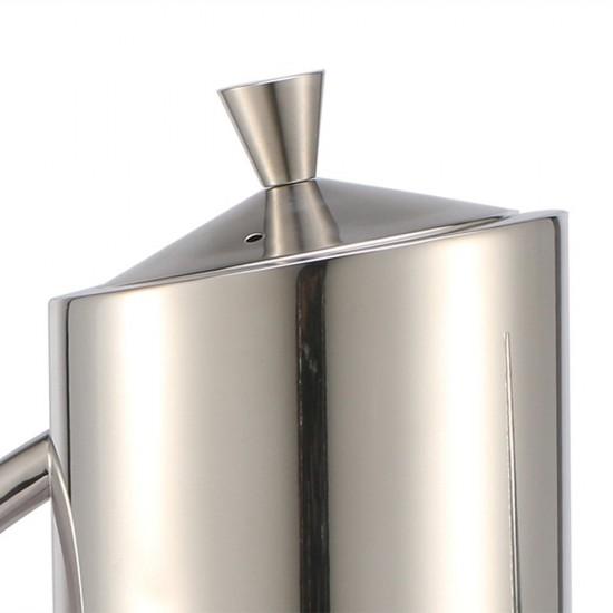 mylifeunit mirror polished 18 10 stainless steel olive oil dispenser 24oz olive oil can. Black Bedroom Furniture Sets. Home Design Ideas