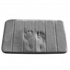 Memory Foam Bath Rug, 16-Inch by 24-Inch