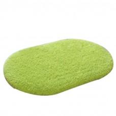 Soft Bathroom Mat Rug Oval, 16-Inch by 24-Inch, Green