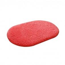 Soft Bathroom Mat Rug Oval, 16-Inch by 24-Inch, Watermelon