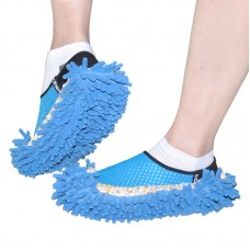 Mop Slippers Shoes Floor Cleaner, 2 Pair