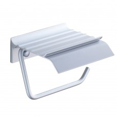 Wall Mounted Toilet Paper Holder for Bathroom, Aluminum