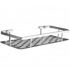 Aluminium Wall Mounted Bathroom Shelf Organizer with Storage Rack