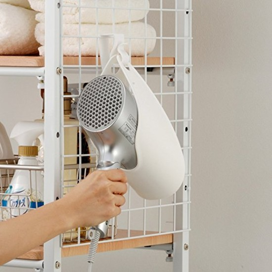 Mylifeunit Anese Hair Dryer Holder Over Cabinet Door