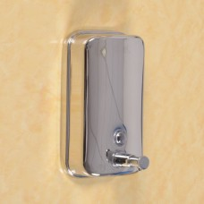 Stainless Steel Wall-mounted Manual Soap Dispenser (18oz/500ml)