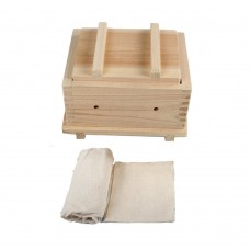 Wood Tofu Maker Kit with Cheesecloth