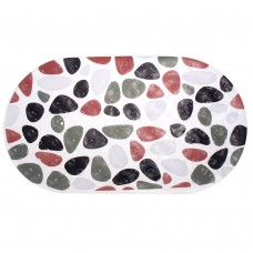"Non Slip Bath Mat Pebble Bathtub Mat 14"" x 27"""