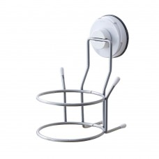 Hair Dryer Holder with Strong Suction, Wall Mount Hair Dryer Rack for Bathroom