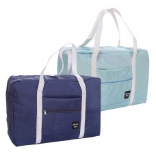 Travel Foldable Duffel Bag, Waterproof Luggage Tote Bag Sports for Vacation Gym (2 Pack)