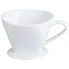 White Ceramic Coffee Dripper