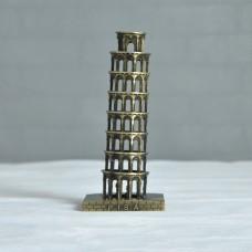 Landmarks Construction Metal Building Model Desktop decoration Ornament (Tower of Pisa)