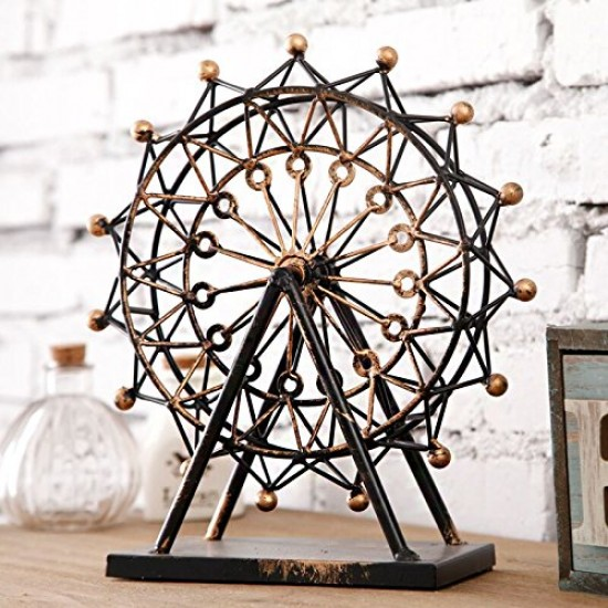 Mylifeunit decorative vintage ferris wheel london eye for Home decorations london