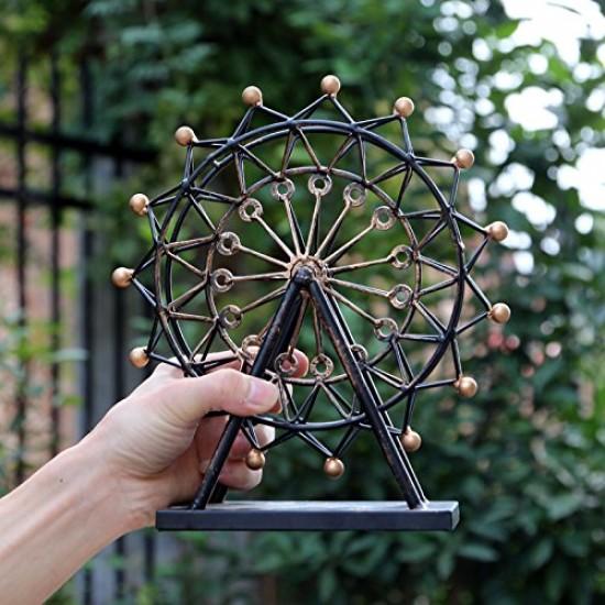 MyLifeUNIT: Decorative Vintage Ferris Wheel - London Eye, Tin Metal ...