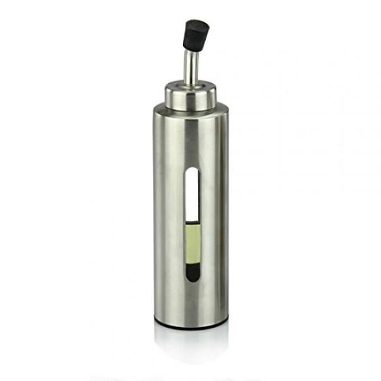 mylifeunit oil bottle stainless steel olive oil dispenser 200ml gal. Black Bedroom Furniture Sets. Home Design Ideas