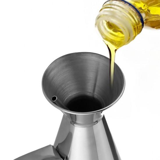 mylifeunit leak proof olive oil dispenser stainless steel oil dispenser bottle 8 oz. Black Bedroom Furniture Sets. Home Design Ideas