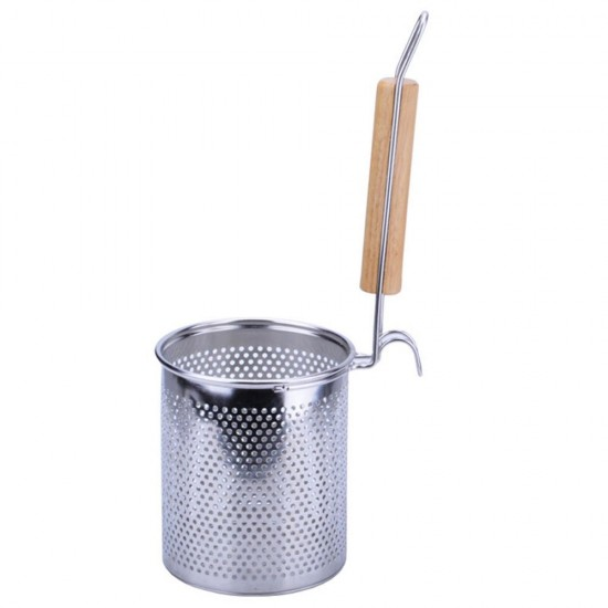 Mylifeunit spaghetti strainer spoon stainless steel food