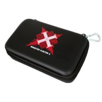Monster Hunter X Hard Cover Travel Carrying Case For Nintendo New 3DS XL LL.