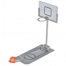 Mini Foldable Tabletop Spring Loaded Basketball Game Desktop Toy