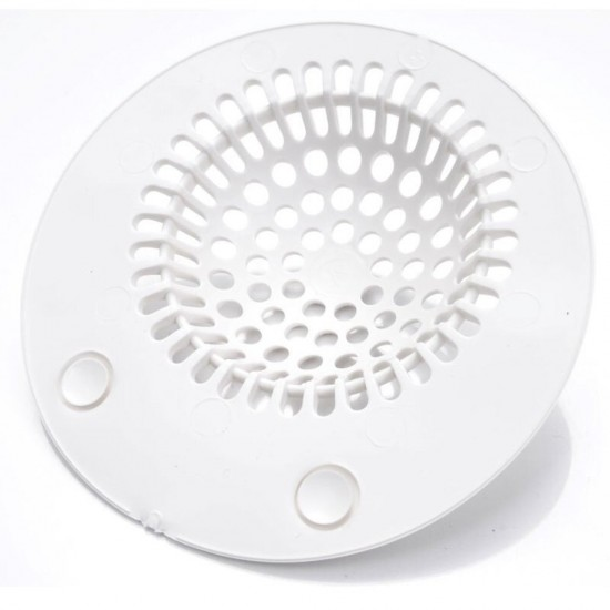 MyLifeUNIT: Silicone Bathtub Drain Hair Catcher Suction Shower Drain Cover  Sink Stopper