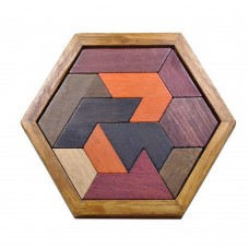 Tangram Jigsaw Puzzles, Wooden Puzzles Toys for Kids