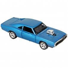 1:32 Dodge Charger 1970 Alloy Die-cast Car Model Collection light &Sound (Blue)