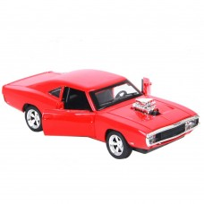 1:32 Dodge Charger 1970 Alloy Die-cast Car Model Collection light &Sound (Red)