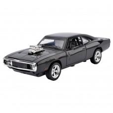 1:32 Dodge Charger 1970 Alloy Die-cast Car Model Collection light &Sound(Black)