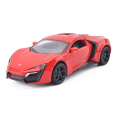 1:32 Scale Lykan Hypersport Red Die-cast Car Model Collection light &Sound