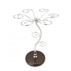 Wine Glass Rack Stand, Metal Wine Glass Holder Rack Tree Display, 6 Cups