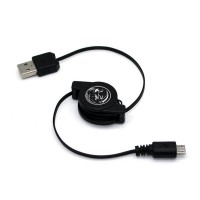 Retractable USB Data Sync Charging Cable for PSV 2000