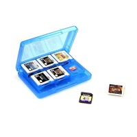 Nintendo 3DS Game Card Case 28 in 1, Blue