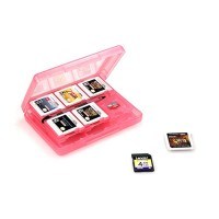 Nintendo 3DS Game Card Case 28 in 1, Pink