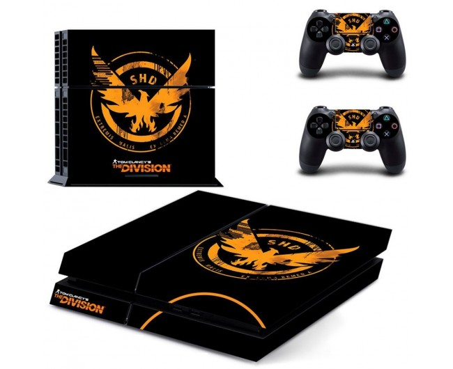 The Division Sticker Ps4 Division Logo Console Skin 2