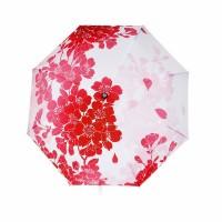 Cherry Blossom Compact Umbrella, Japanese Sakura Folding Umbrella