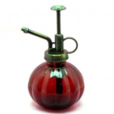 Retro Glass Watering Can Watering (Wine red)