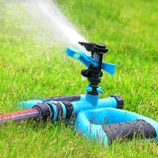 Impulse Sprinkler, Automatic Garden Lawn Sprinkler, 360 Degree Rotation
