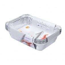 Aluminum Foil Pans, Non Stick Aluminum Foil Pans, Aluminum Foil Containers, set of 30pcs