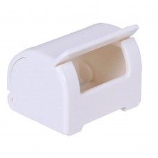 Japanese Plastic Razor Holder Shaver Storage Rack for Bathroom, White