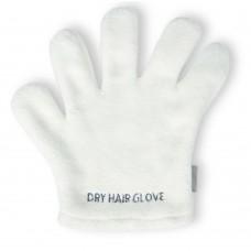 Microfiber Hair Drying Glove, White